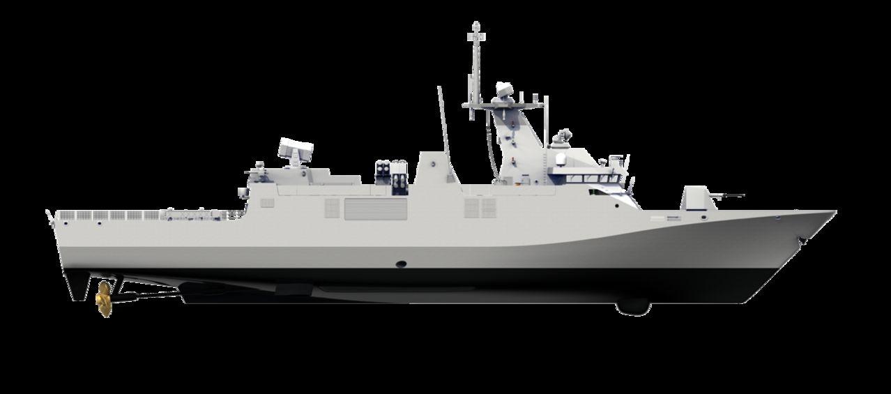 Diseño Damen de 2 generacion para Patrullas Oceanicas y/o Corbetas - Multimodal Sigma_Corvette8313