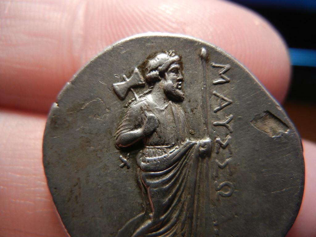 Tetradracma Rodio. Satrapía de Mausolo.(377-353 A.C).Halicarnaso. Region de Caria. Imperio Persa. DSCN0068