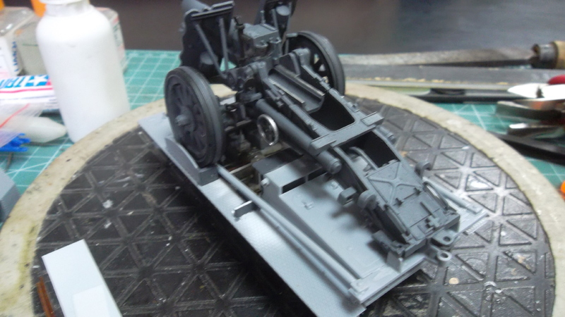 Bison / 15cm siG 33 auf  Pz.Kpfw I, 1/35, (MSD 3508). SAM_1620