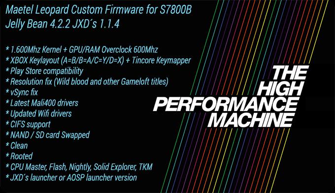 [S7800B][JB] Leopard Custom Firmware [1.6Ghz/Tincore Keymapper/Xbox Layout]  S7800b_custom_firmware_leopard