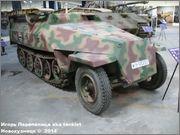 Немецкий средний бронетранспортер SdKfz 251/7  Ausf D,  Musee des Blindes, Saumur, France 251_7_Saumur_164