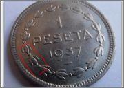 1 Peseta 1937 Euzkadi Image