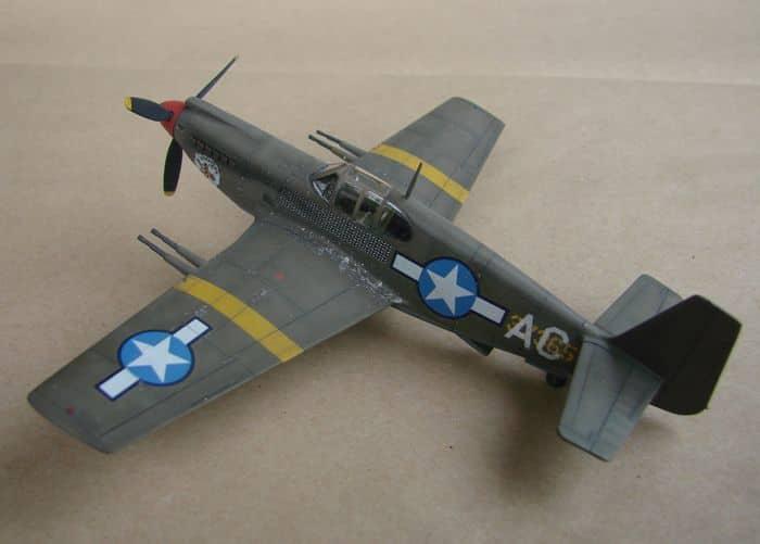 P-51 Mustang, Academy i P-51B Mustang (rebuild) Revell, 1/72 DSC02583