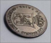 40 Céntimos de Escudo. Isabel II. 1865. Dedicada a Javi. Image
