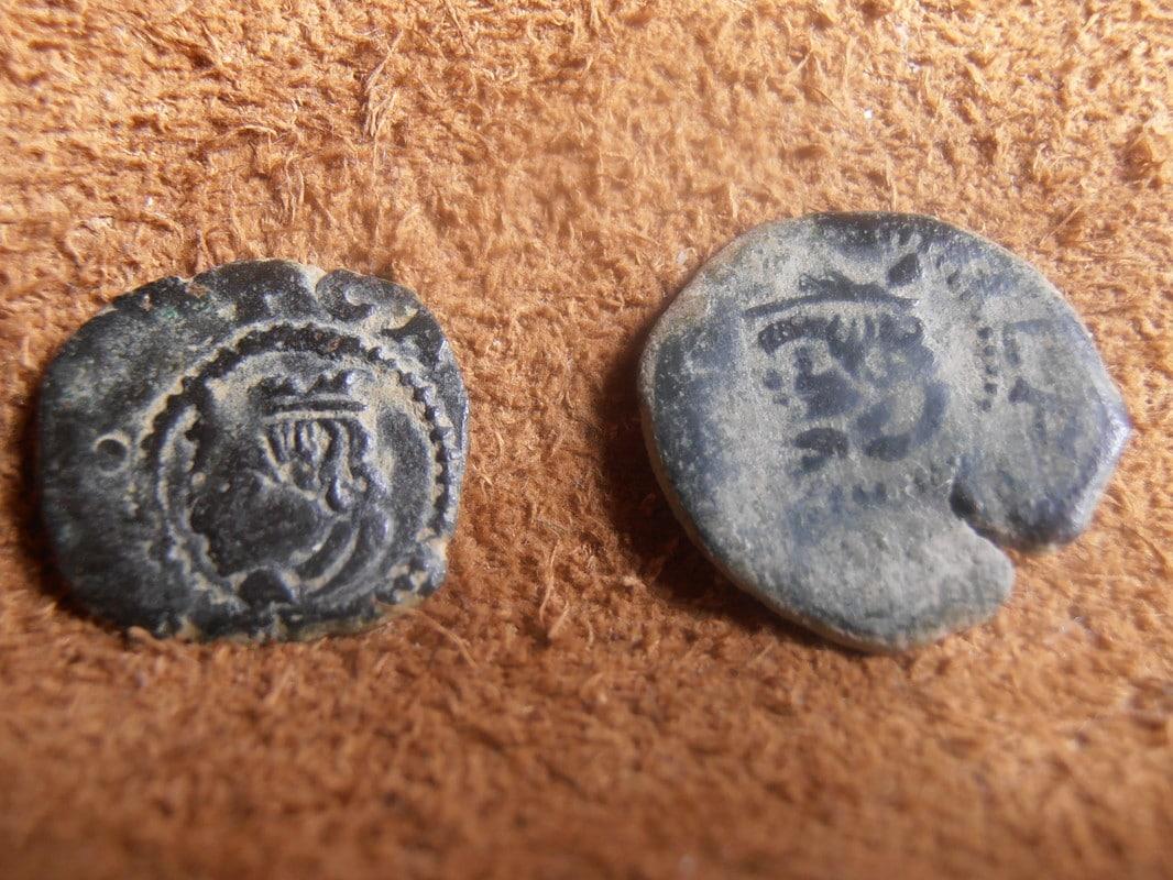 dinero   Carlos II CECA de VALENCIA P2140030