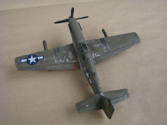 P-51 Mustang, Academy i P-51B Mustang (rebuild) Revell, 1/72 DSC02576