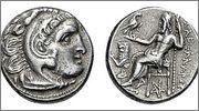 Dracma de Lisímacos como Alejandro III el grande  Price_1840_2