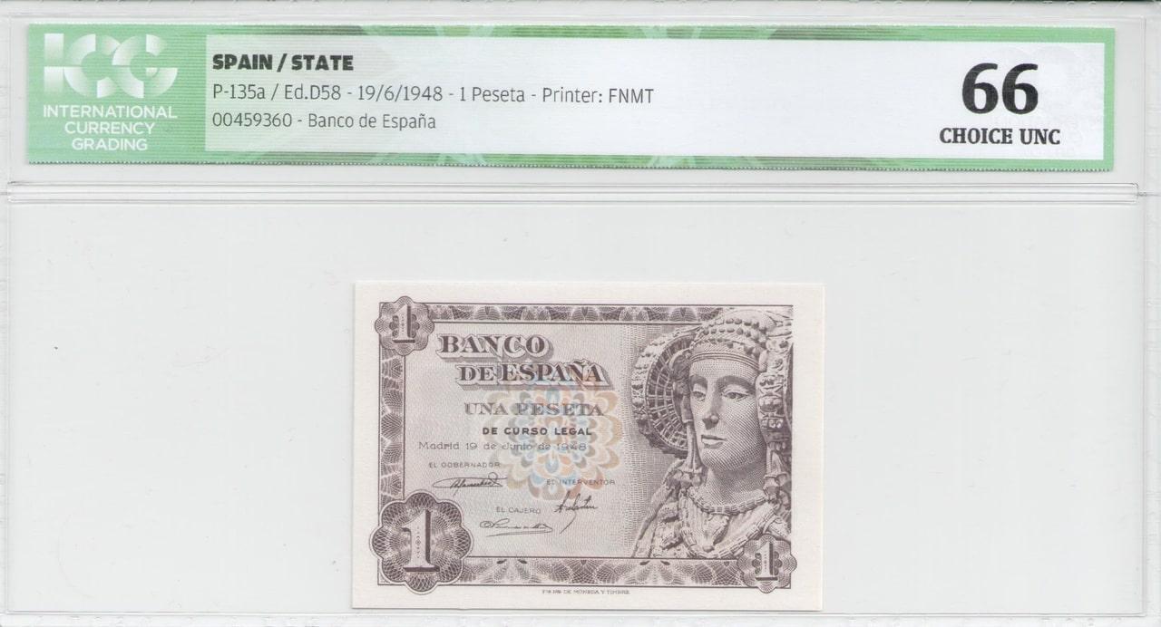 Colección de billetes españoles, sin serie o serie A de Sefcor 48_anverso