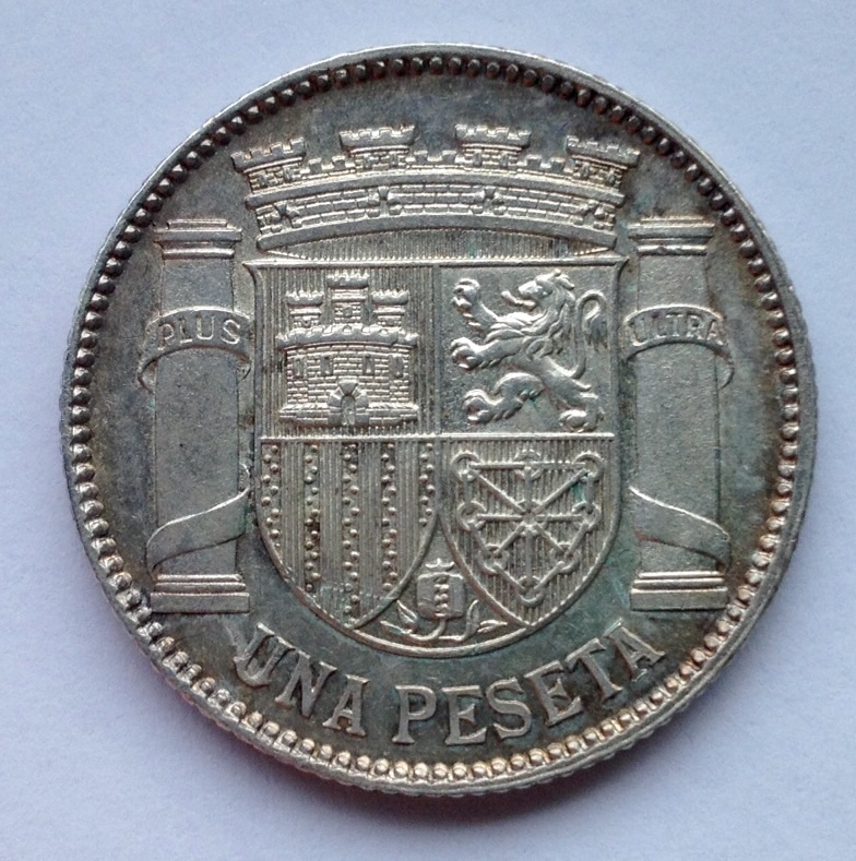 1 peseta 1933 - II República Image