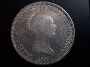 20 Reales 1.854. Isabel II. Madrid DSCN1173
