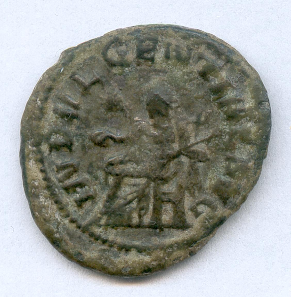 Antoninianos de Macriano II y Quieto MACRIANUS_RIC_8_REV