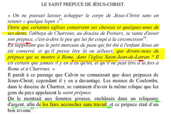 Morandini Zap: le Clonage de jésus-Christ grâce à son prépuce !  Pr_puce1