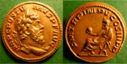 juliuscaesarnumberone :Aureo de Póstumo de chocolate. Au7