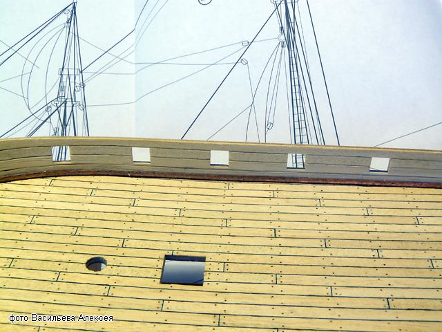 """Собирательный образ пиратского корабля """"CORSAIR"""" масштаб 1:80 фирмы OCCRE 6RZDx"""