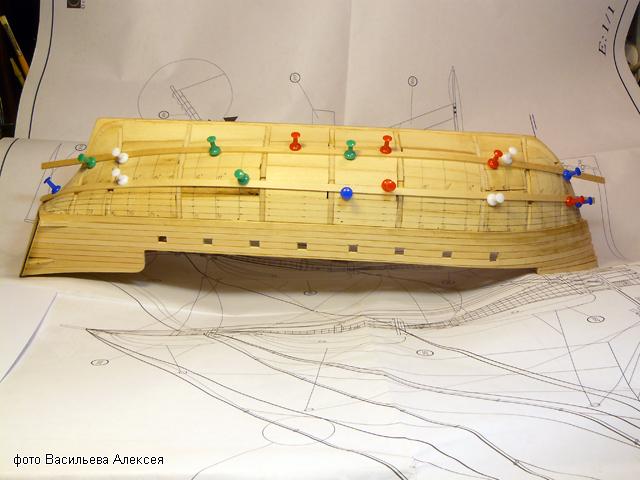 """Собирательный образ пиратского корабля """"CORSAIR"""" масштаб 1:80 фирмы OCCRE CiXa4"""