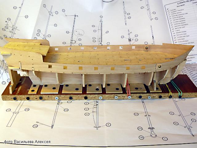 """Собирательный образ пиратского корабля """"CORSAIR"""" масштаб 1:80 фирмы OCCRE FlcBT"""
