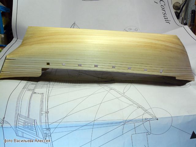 """Собирательный образ пиратского корабля """"CORSAIR"""" масштаб 1:80 фирмы OCCRE Q0zvW"""