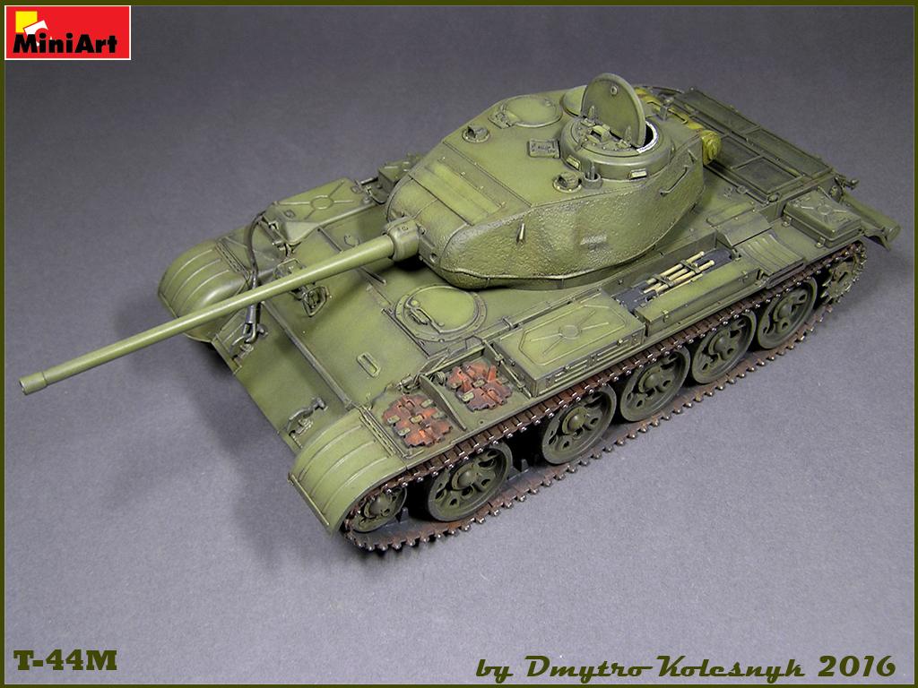 Т-44М (MiniArt;1:35) TtrBX