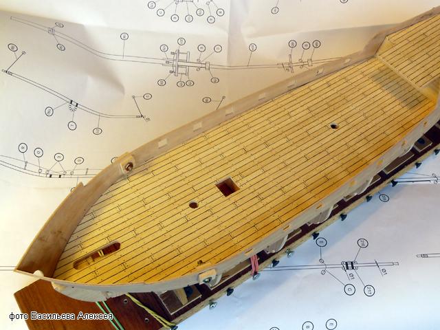 """Собирательный образ пиратского корабля """"CORSAIR"""" масштаб 1:80 фирмы OCCRE V4Us9"""