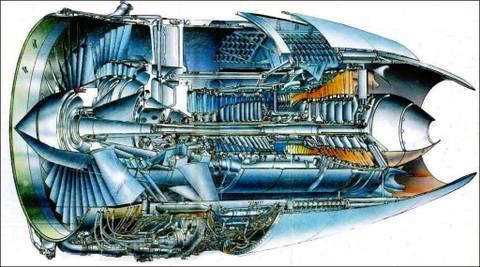 ПС-90А (Д-90А) - авиационный турбовентиляторный двухконтурный двухвальный двигатель 3u5Cd