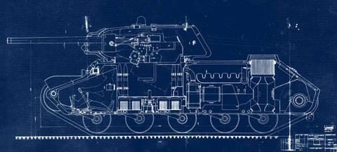 КВ-13 («Объект 233») - средний танк Odz6P
