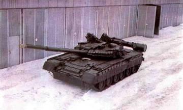 Т-80У («Объект 219АС») - основной боевой танк JX50Y
