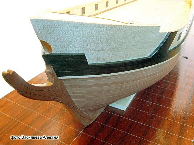 """Собирательный образ пиратского корабля """"CORSAIR"""" масштаб 1:80 фирмы OCCRE VdCW0"""