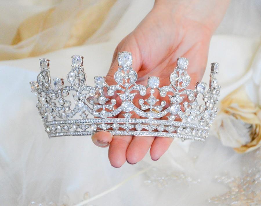 تيجان ملكية  امبراطورية فاخرة Royal-wedding-tiara-queen-elizabeth-tiara-royal-bridal-tiara-crystal-wedding-tiara-princess-crown-queen-elisabeth-crown-wedding-crown