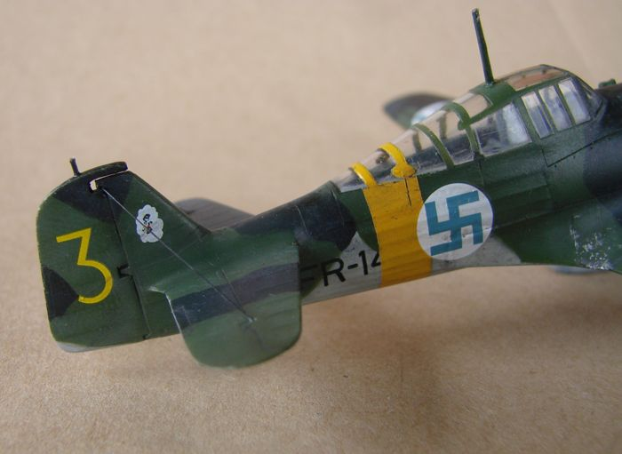 Finski Fokkeri D.XXI, Special Hobby, 1/72 DSC01483