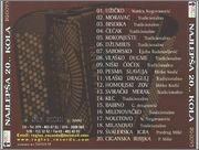 Slobodan Bozinovic -Diskografija NAJLJEPSA_20_KOLA_Back