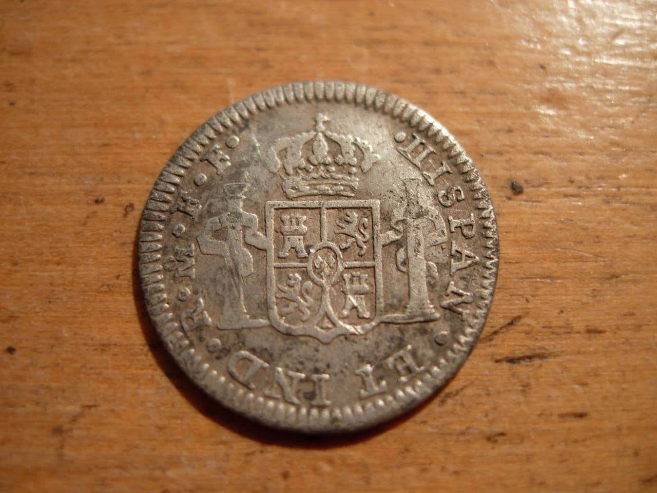 1/2 real de 1772, Carlos III. Ceca de México FF Imagen_013