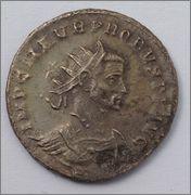 Aureliano (antoniniano) de Probo. ROMAE AETERNAE. Roma Image