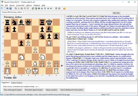 The Tarrasch Chess GUI Screenie_t3