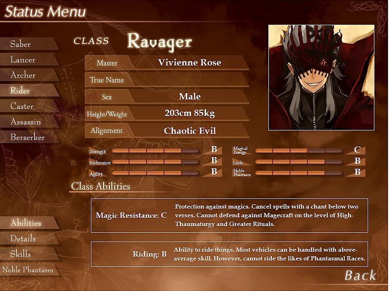 The Grail Games OOC Ravager_status_final