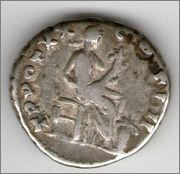 Denario de Antonino Pío. TR POT XX COS IIII. Annona. Roma. Smg_647b