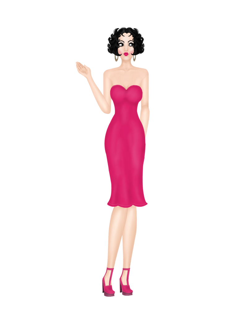 From the Who Am I ?? Game   Betty Boop Betty_Boop_outfit