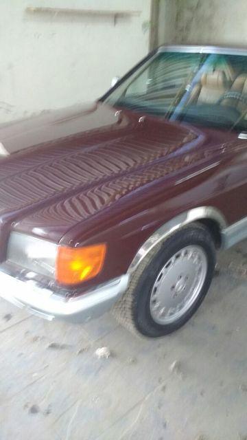 C126 500SEC 1983 - R$ 48.000,00 Zap8