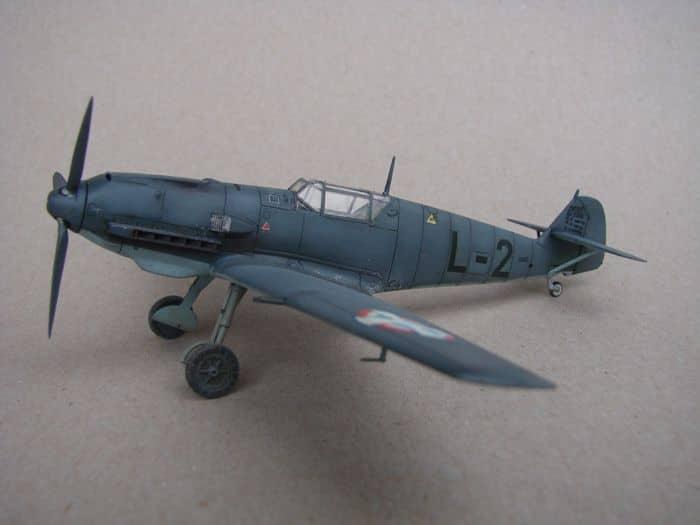 Bf-109E-3VVKJ, Tamiya, 1/72 DSC03066