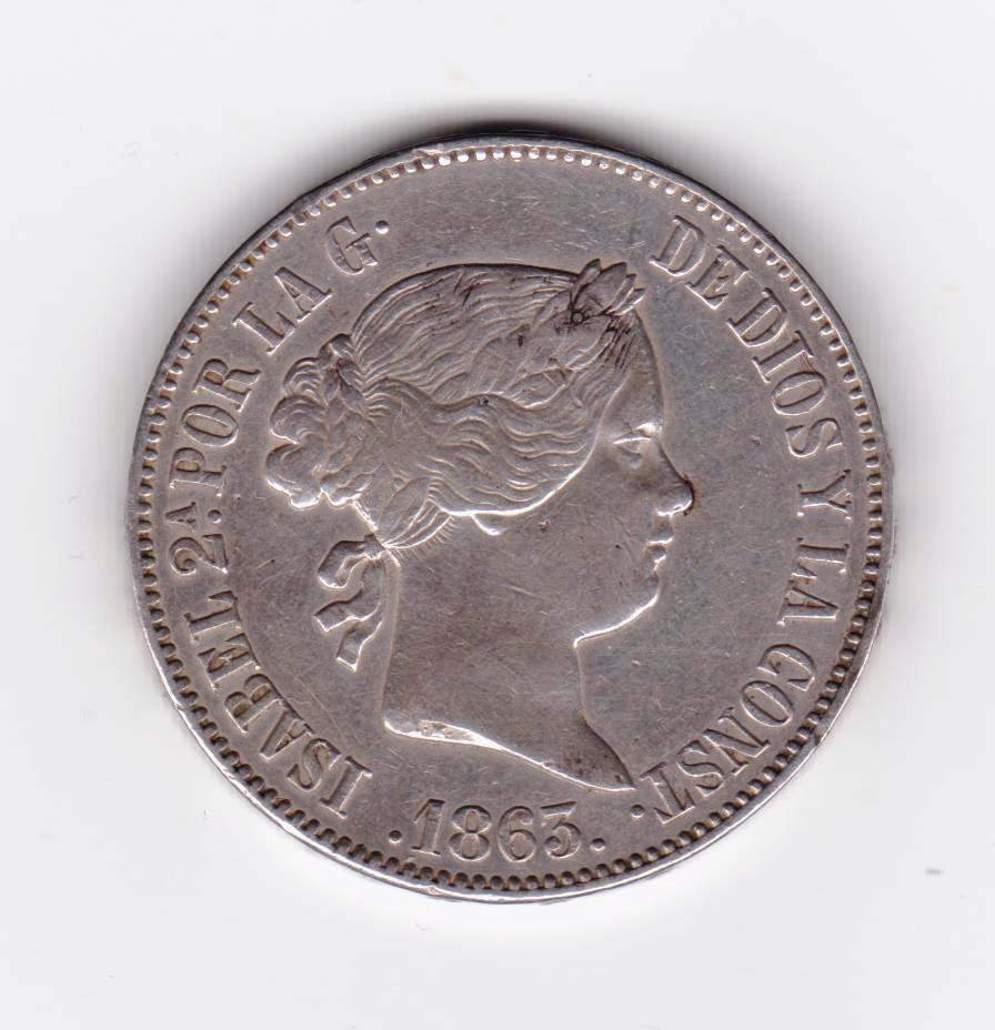 10 reales 1863 Madrid, Isabel II 10_reales_1863