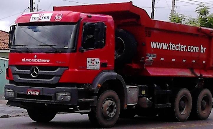 Entendendo o Brasil - Caminhões com letreiro invertido Truck