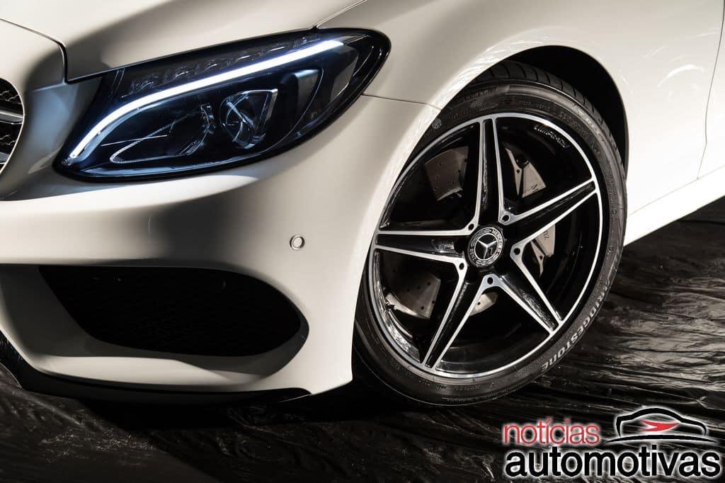 Classe C 300 Sport estreia como versão topo de linha por R$ 241,9 mil Mercedes-benz-c-300-sport-2018-5