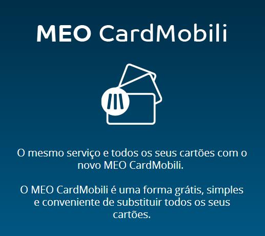 MEO CardMobili Meokardmobile