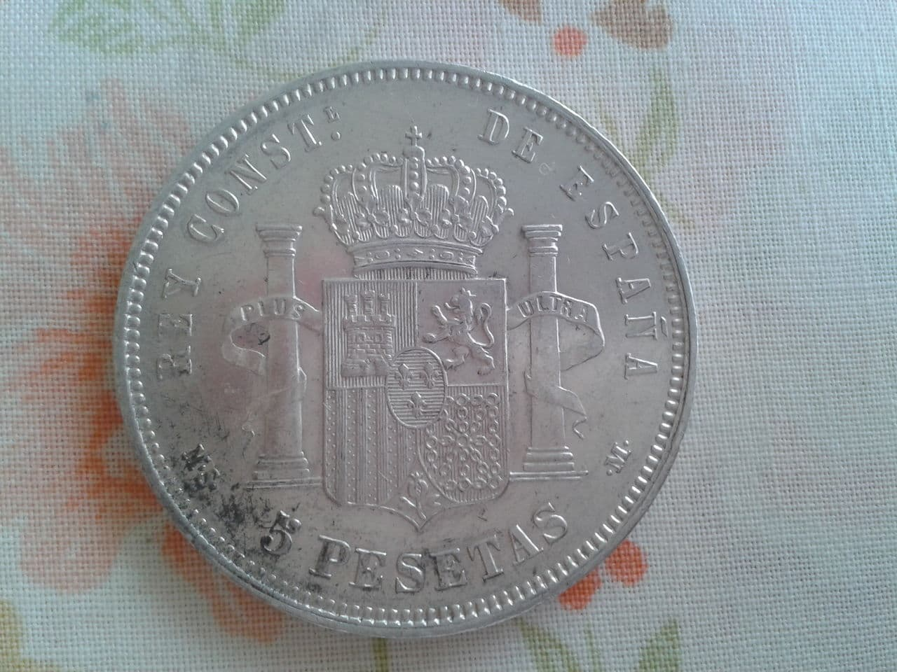 5 pesetas 1884 *18*84. Alfonso -XII. 2014_10_04_13_00_31