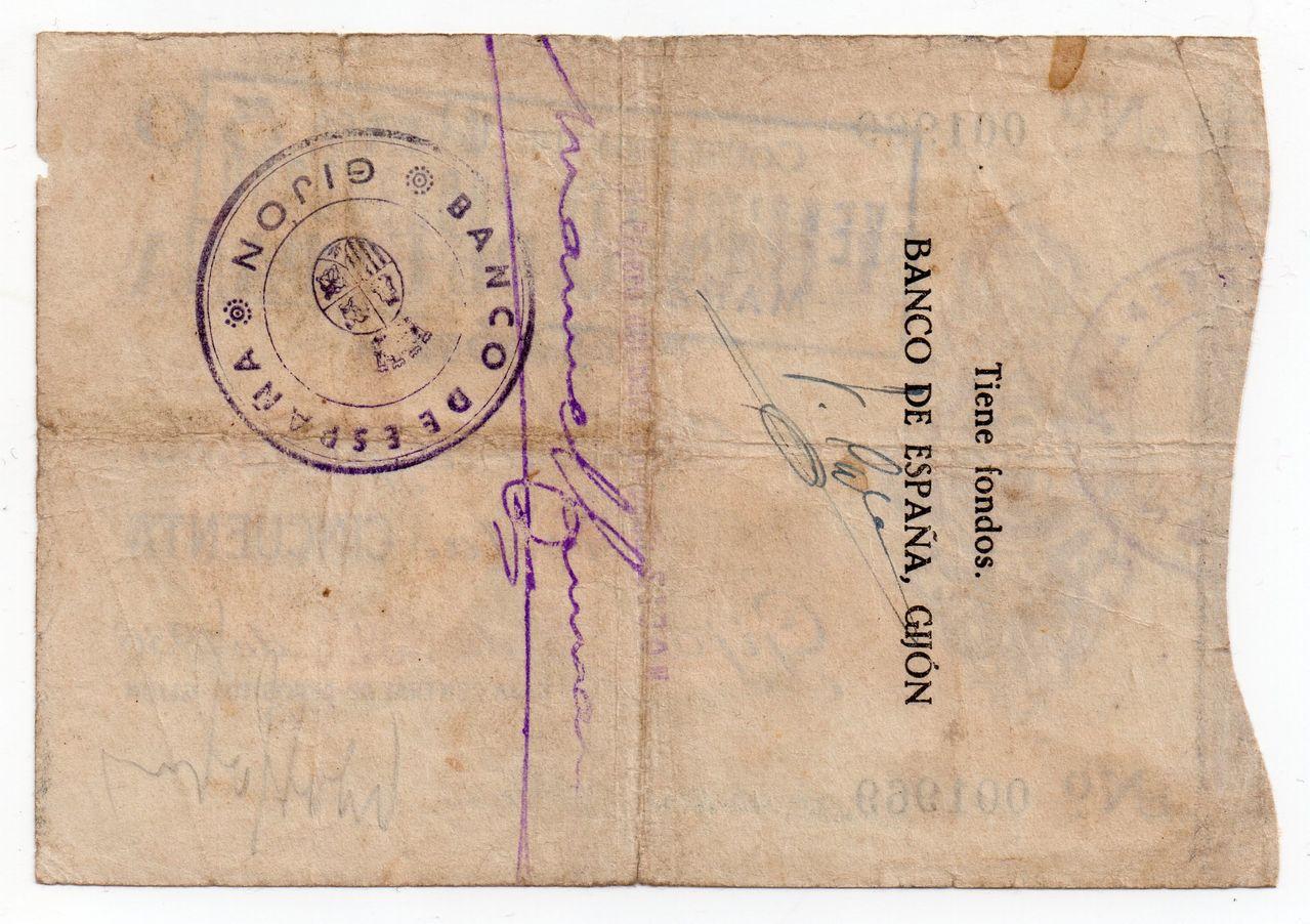 50 Pesetas 1936 (Banco de España en Gijón, serie baja) Img072