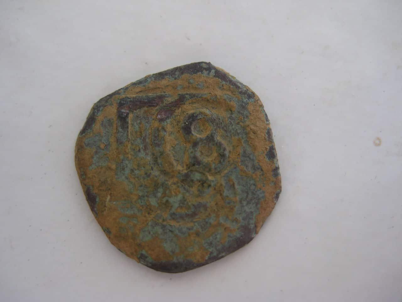 VIII maravedís de Felipe III ó IV resellado a VIII 1641-2, resellado a 8 1651-2 IMG_1101