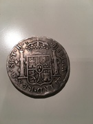 8 reales 1808. Carlos IV. Méjico T.H. IMG_3827