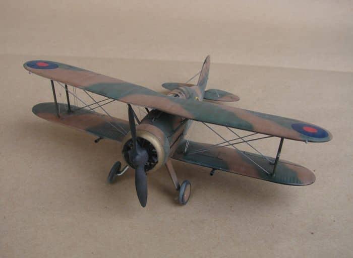 Gloster Gladiator Mk.I, Matchbox/Revell, 1/72 DSC03048