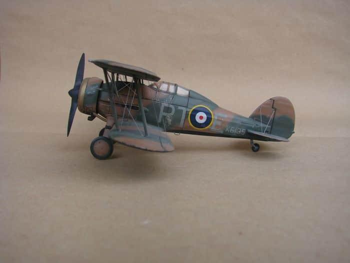 Gloster Gladiator Mk.I, Matchbox/Revell, 1/72 DSC03049