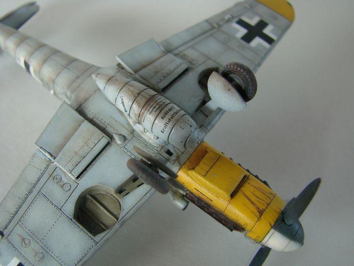 Messerschmitt Bf-109G-6, KP, 1/72 DSC03974