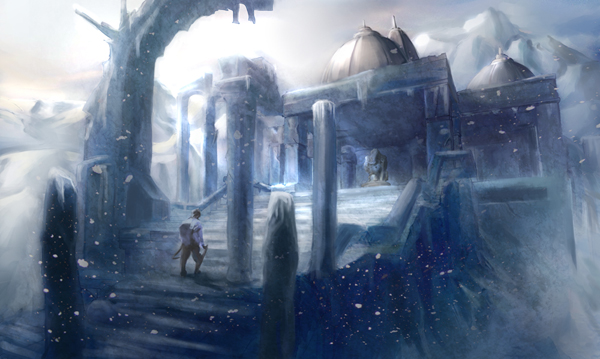 Actualización de Territorio: Mitgard Ruined_temple_on_ice_mountain_by_luciouslowliet